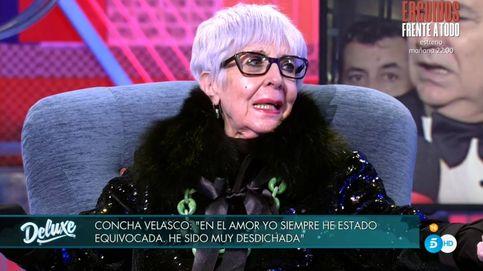 Concha Velasco se desarma en directo en TM por la muerte de Raffaella Carrà