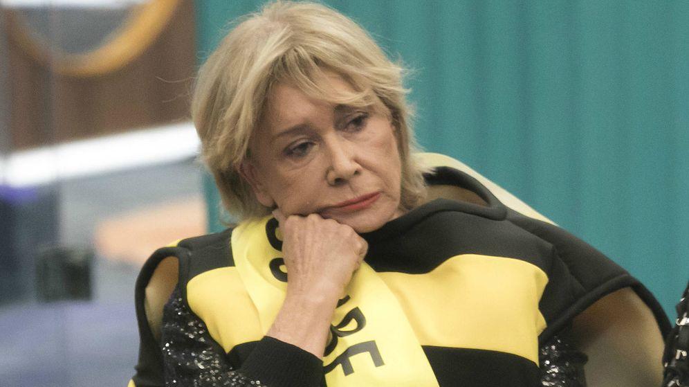 Foto: Mila Ximénez vestida de abeja en 'GH VIP 7'. (Mediaset España)