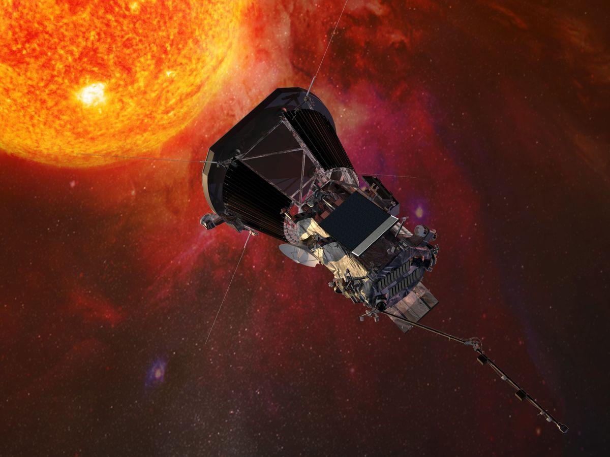 Foto: Sonda Parker Probe de la NASA. (EFE)