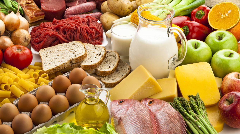 Foto: Alimentos que podrían ser consumidos por un flexitariano. Lo relevante son las cantidades. (iStock)