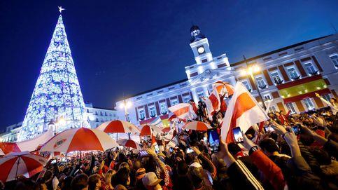 Aficionados del River Plate en Madrid