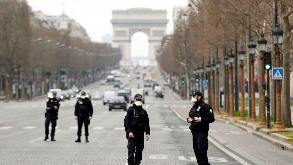Francia espera reducir la curva de enfermos en 8 a 12 días