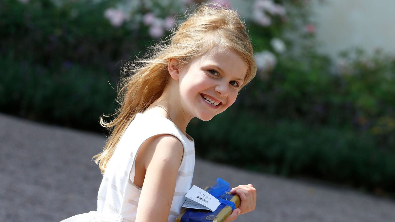 Foto: La princesa Estelle de Suecia. (Getty Images)