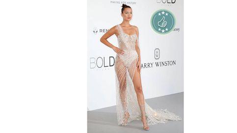 Festival de Cannes: de Bella Hadid a Lindsay Lohan, las mejor y peor vestidas de la gala amfAR 2017