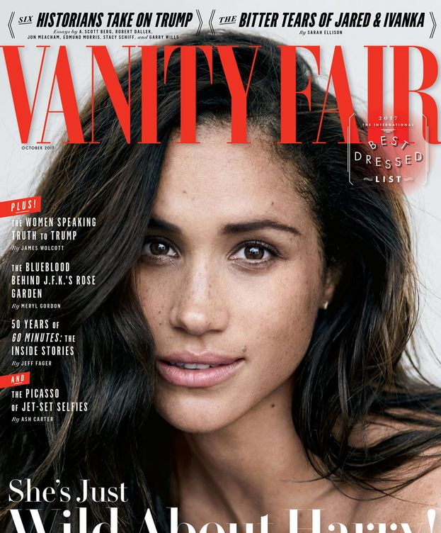Foto: Meghan Markle en la portada de 'Vanity Fair'.