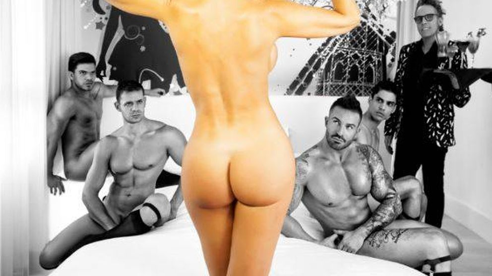 Marlene Mourreau se desnuda con Torito en 'Primera línea'