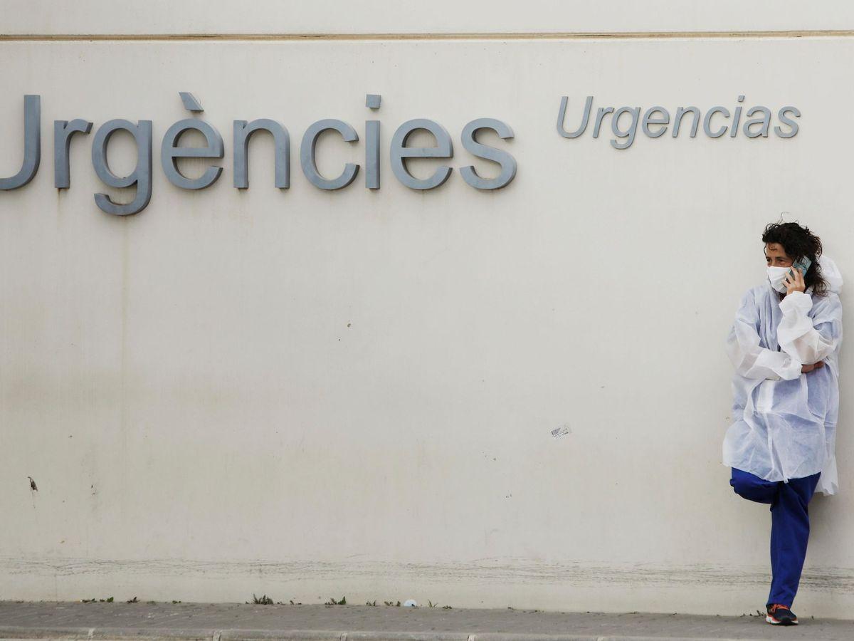 Foto: Jorge Lis está ingresado en el Hospital La Fe de Valencia (EFE/Biel Aliño)
