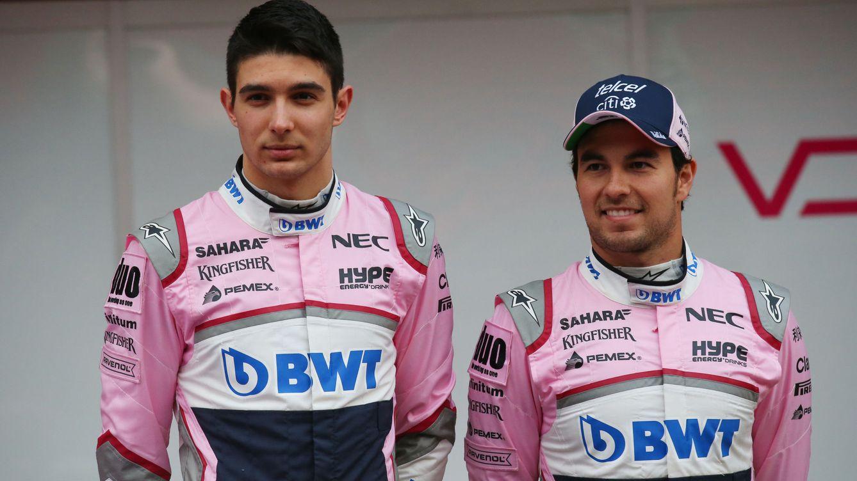Sergio Pérez y Esteban Ocon a palos: el camarote de los hermanos Marx en la F1