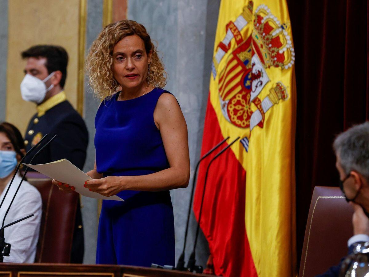 Foto: La presidenta del Congreso, Meritxel Batet. (EFE)