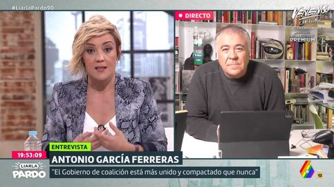 Pardo habla con Ferreras de la historia chusca de  Iglesias en el caso Dina
