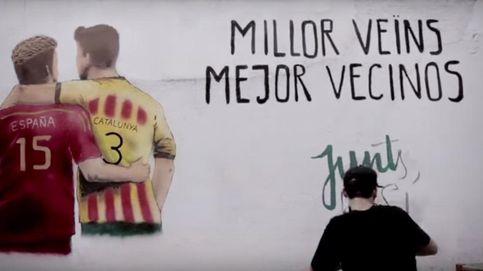'Junts pel sí' separa de manera definitiva  a Sergio Ramos y Piqué: Mejor vecinos