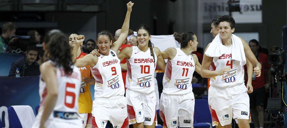 Foto: España vuelve a estar en semifinales cuatro años después (Foto: FEB)