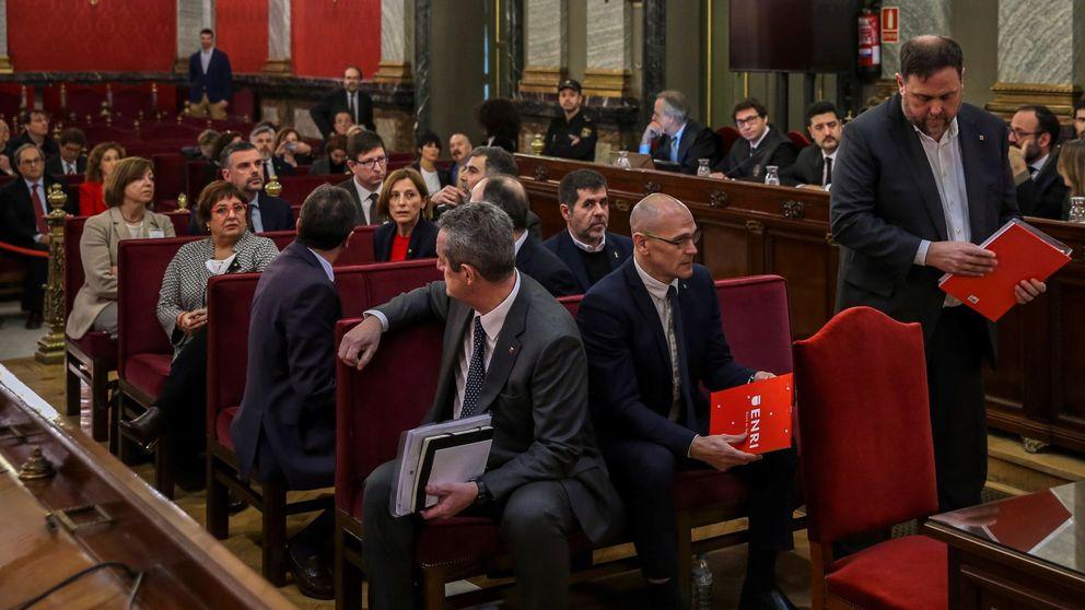 Los líderes del 'procés' ya están sentados en el banquillo del Tribunal Supremo