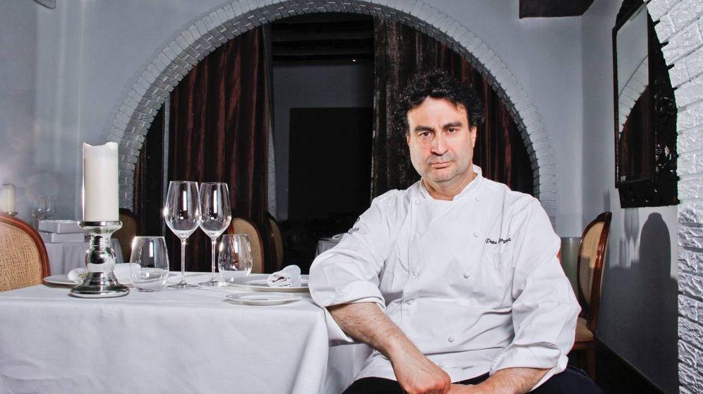 Foto: Pepe Rodríguez, en su restaurante El Bohío, en Toledo.