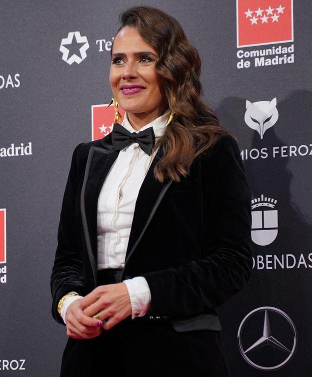 Foto: Anna Allen, en los Premios Feroz. (Cordon Press)