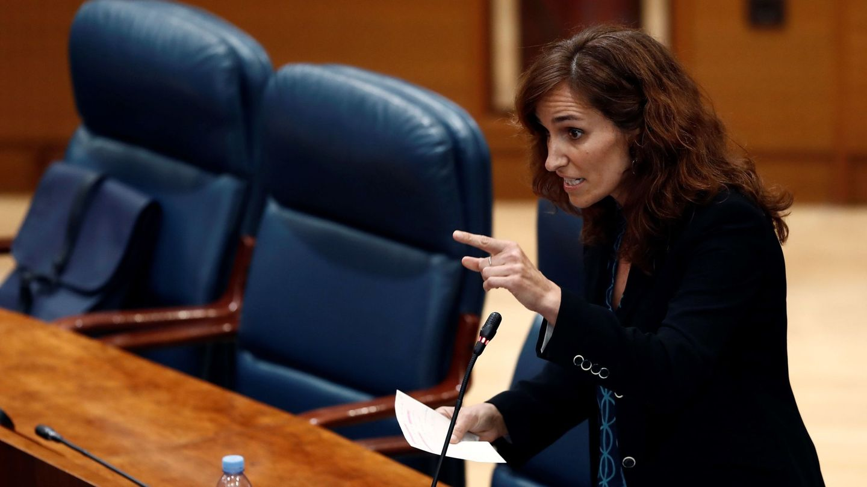 La candidata de Más Madrid a la Asamblea. (EFE)
