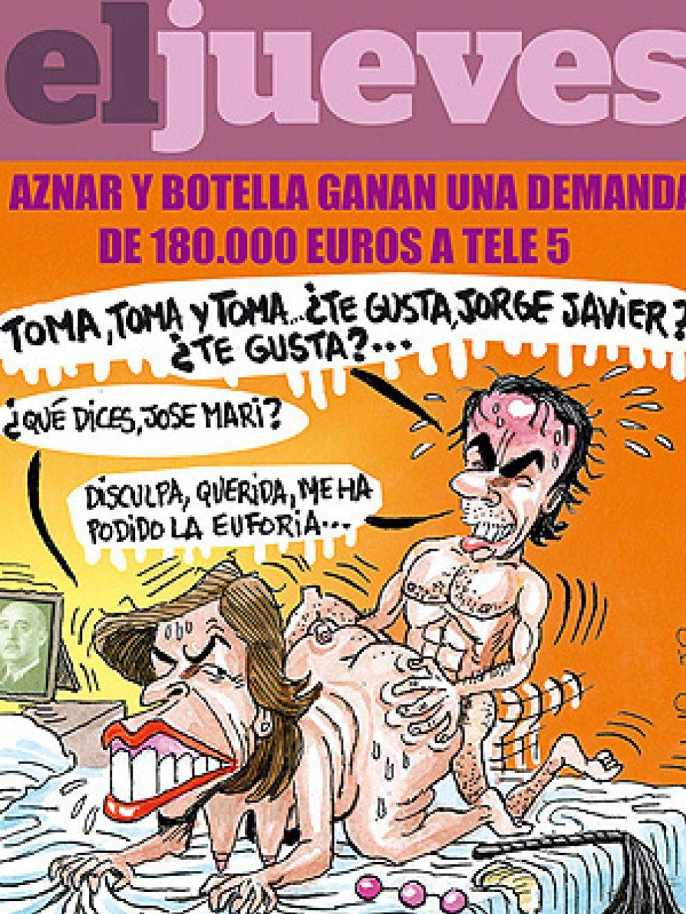 Nueva Pol 233 Mica De El Jueves La Revista Sat 237 Rica Muestra