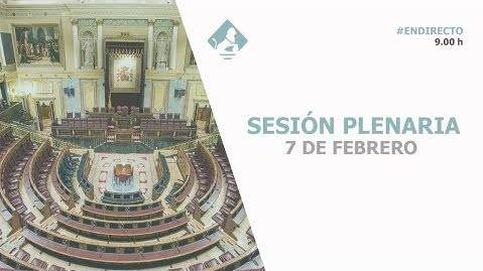 Siga en directo la sesión de control al Gobierno en el Congreso