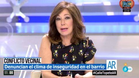 Apedrean en directo a un reportero de 'El programa de Ana Rosa'