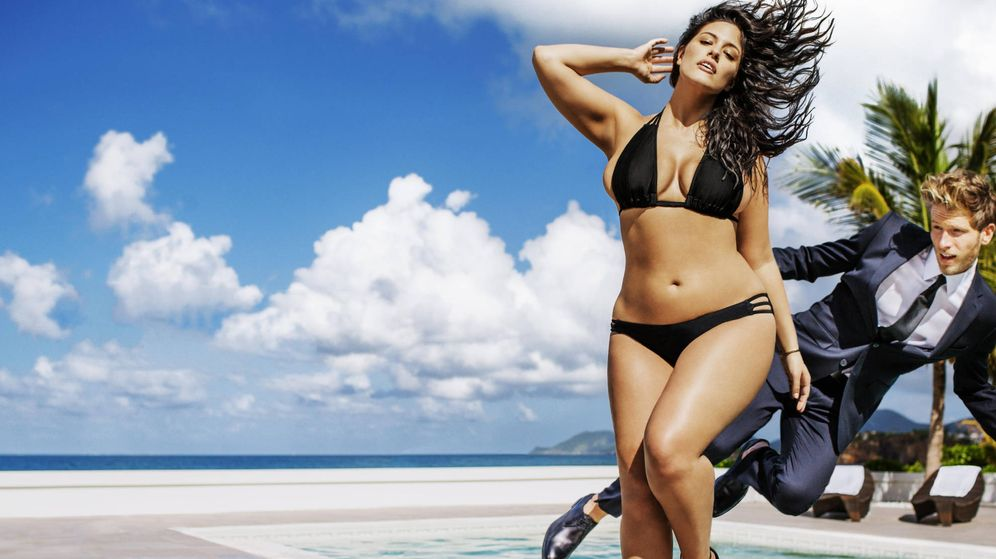 Foto: Ashley Graham para Swimsuits for All.