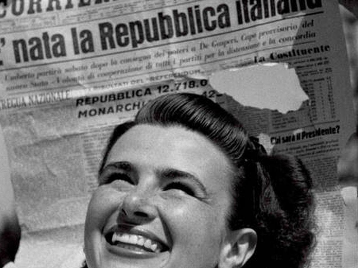 Foto: Celebración del 'Sí' a la República en Italia en junio de 1946
