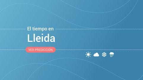 El tiempo en Lleida: previsión meteorológica de hoy, miércoles 13 de noviembre