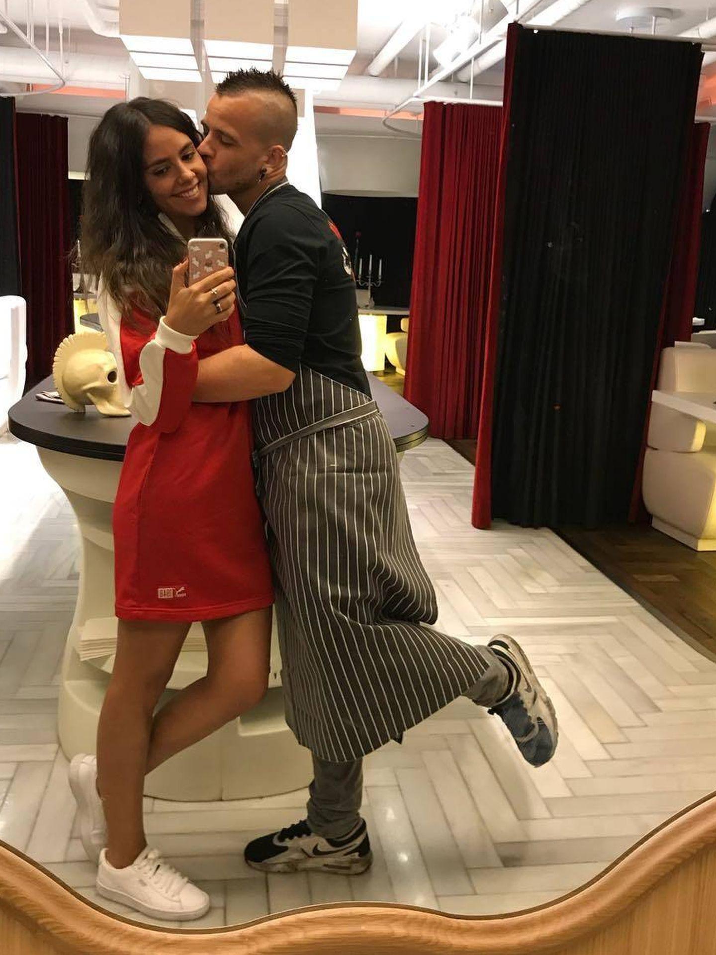 Cristina Pedroche y David Muñoz. (Instagram)