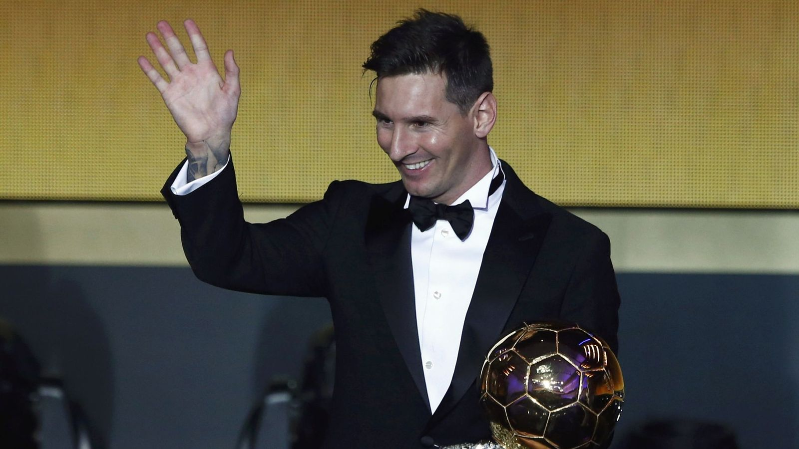 Foto: Leo Messi gana su quinto Balón de Oro