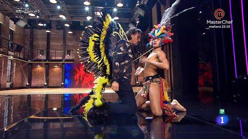 ¡Está poseído!: Rafa Méndez se vuelve loco ante Moha en 'The dancer'