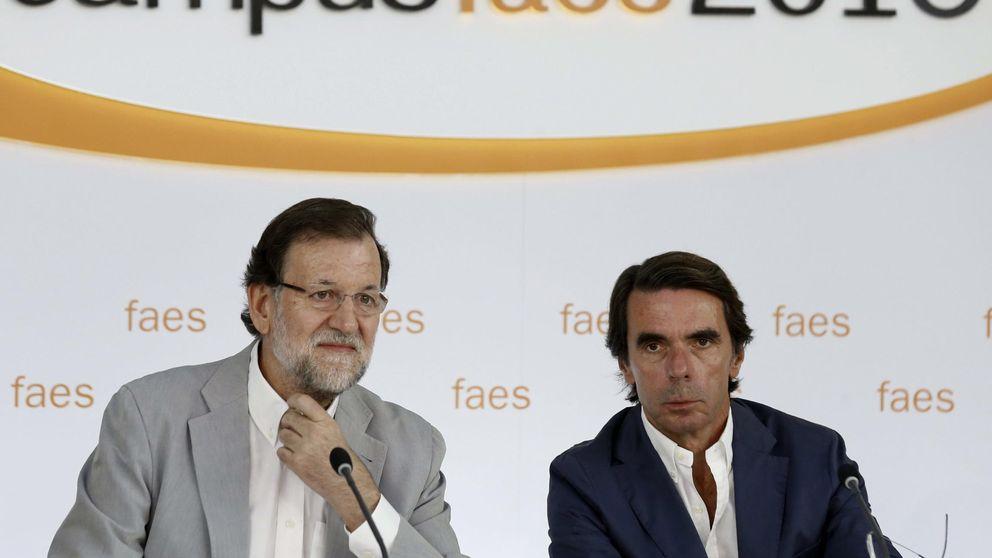 Rajoy ignora a Aznar y se agarra al voto útil para ganar las generales