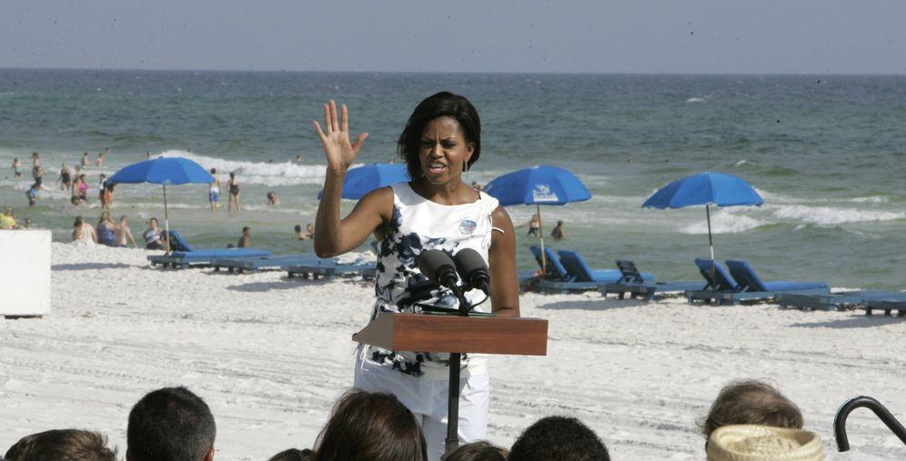 Foto: Michelle Obama en una imagen de archivo. (Gtres)