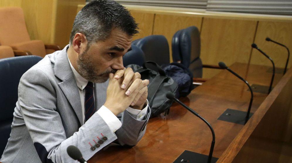 Foto: Alejandro de Pedro, el empresario imputado en Púnica. (EFE)