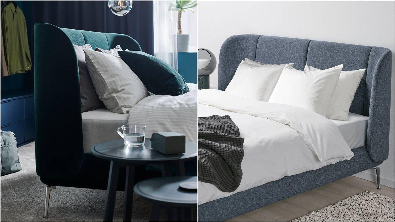Dormitorio de lujo gracias a Ikea. (Cortesía)