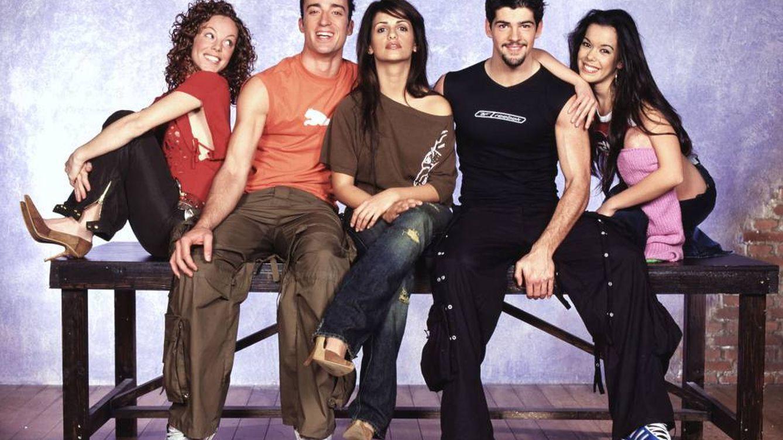 Foto: Silvia Marty, Pablo Puyol, Mónica Cruz, Miguel Ángel Muñoz y Beatriz Luengo, componentes de UPA Dance