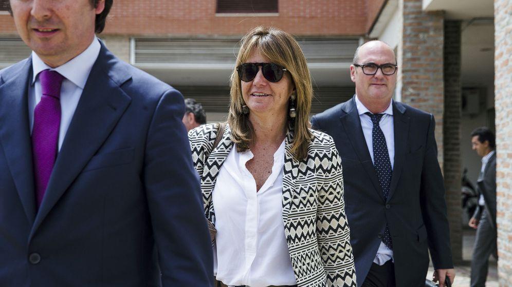 Foto: La esposa del expresidente de la Comunidad de Madrid Ignacio González, Lourdes Cavero. (EFE)