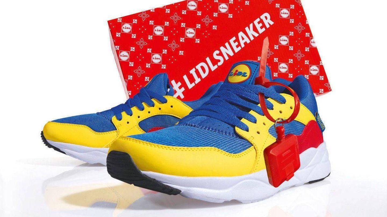 Las zapatillas deportivas de Lidl. (Cortesía)