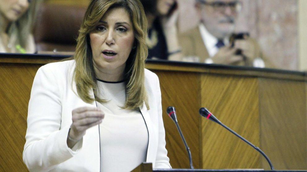 Díaz anuncia las 'nuevas' bolsas de empleo andaluz: 'ladrillo' y minería