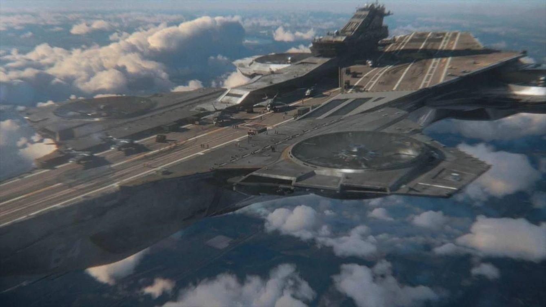 Foto: El portaaviones del Pentágono no tiene nada que ver con el SHIELD (Marvel)