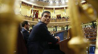 """El discurso de Sánchez en la investidura en una frase: """"La próxima semana…Podemos"""""""