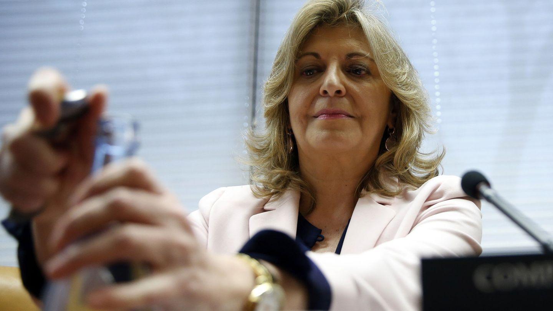Engracia Hidalgo, consejera de Economía, Empleo y Hacienda. EFE