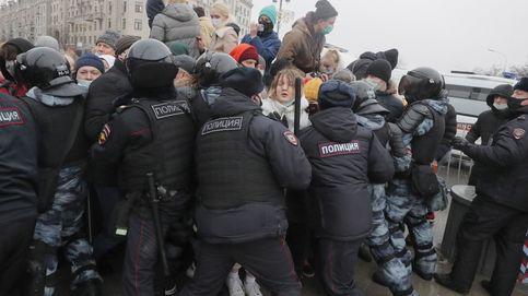 Casi 3.300 detenidos en Rusia durante las protestas en apoyo a Navalni