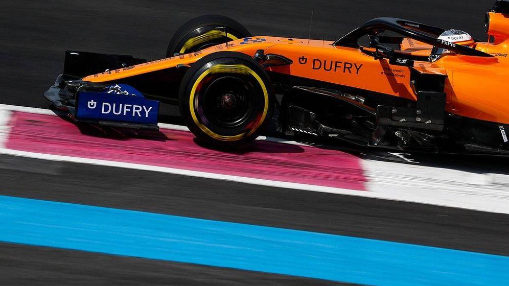 Foto: A pesar de que Sainz no se mostró satisfecho con su monoplaza, terminó siempre entre los diez primeros en el Paul Ricard