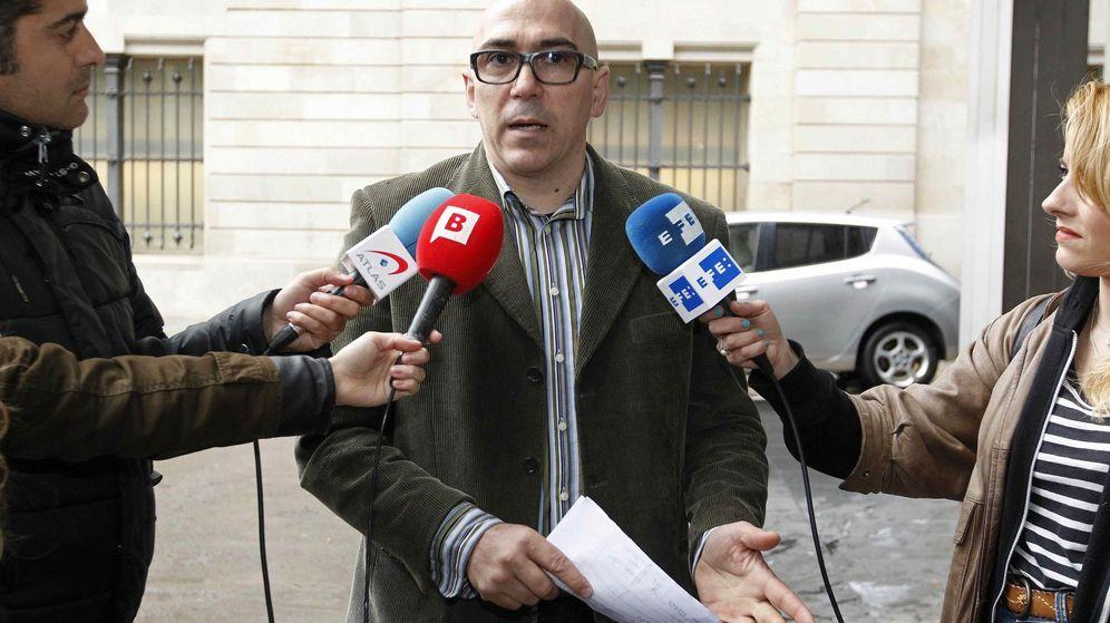 Foto: Manuel Barbero, padre de una de las victimas de abusos en los Maristas (Efe)