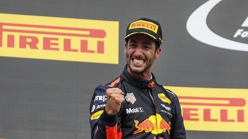 Ricciardo: ¿Verstappen? Es más mediático para Red Bull, pero no me eclipsa en nada