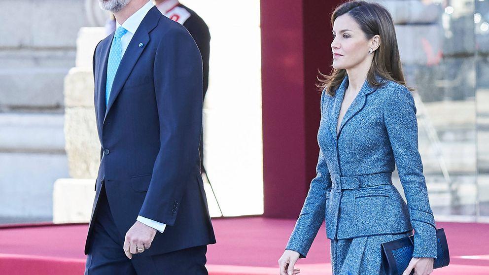 Letizia, la friolera: tenemos la prueba de que pasó frío en la ceremonia en el Palacio Real