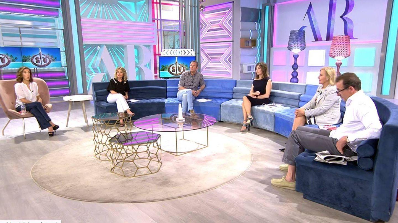 Plató de 'El programa de Ana Rosa'. (Mediaset España)