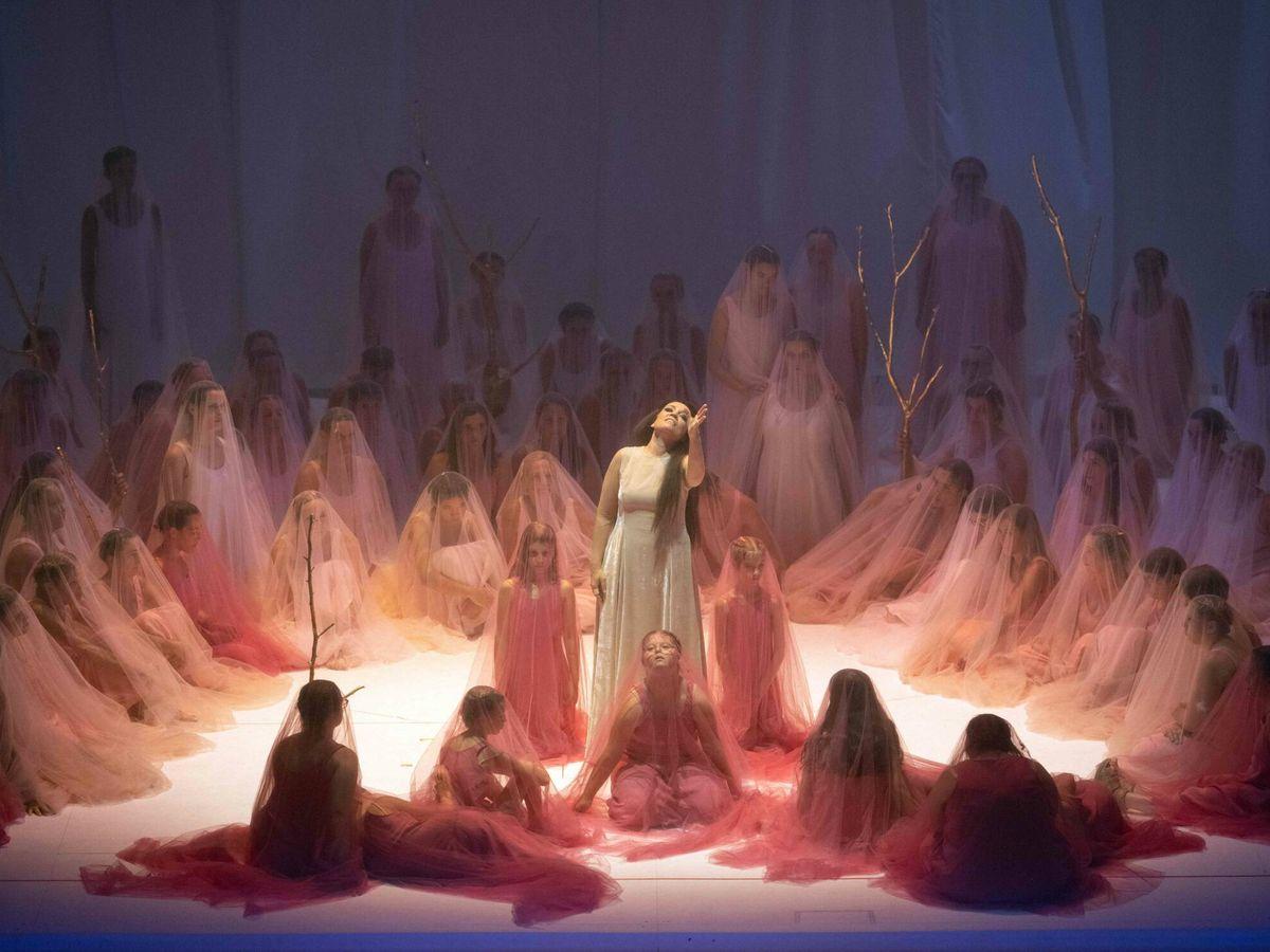Foto: Nadezhda Pavlova en el 'Don Giovanni'. (Festival de Salzburgo)