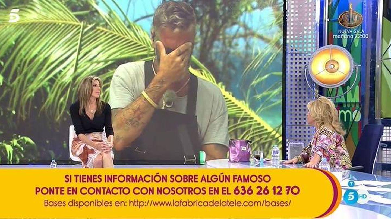Lydia Lozano, en 'Sálvame'. (Telecinco)