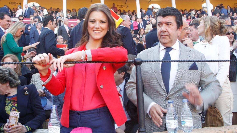 La ex Miss España María Jesús Ruiz y José María Gil Silgado, en una imagen de archivo. (Gtres)