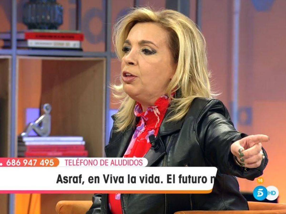 Foto: Carmen Borrego, en 'Viva la vida'. (Mediaset España)